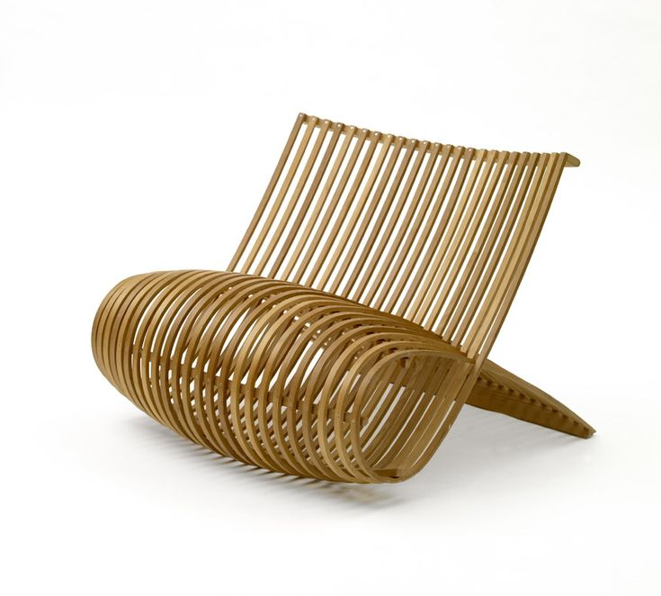 Marc Newson Wood chair Cappellini 1988