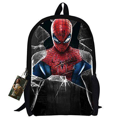 Pre School Travel Student Bag Backpack Spider-Man For Kids Boys Children Bag NEW #PreSchoolBagBackpackSpiderMan #Backpack