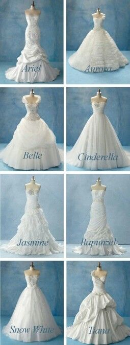 Choose the character and find your dress!! #Belle #Cinderella #Ariel