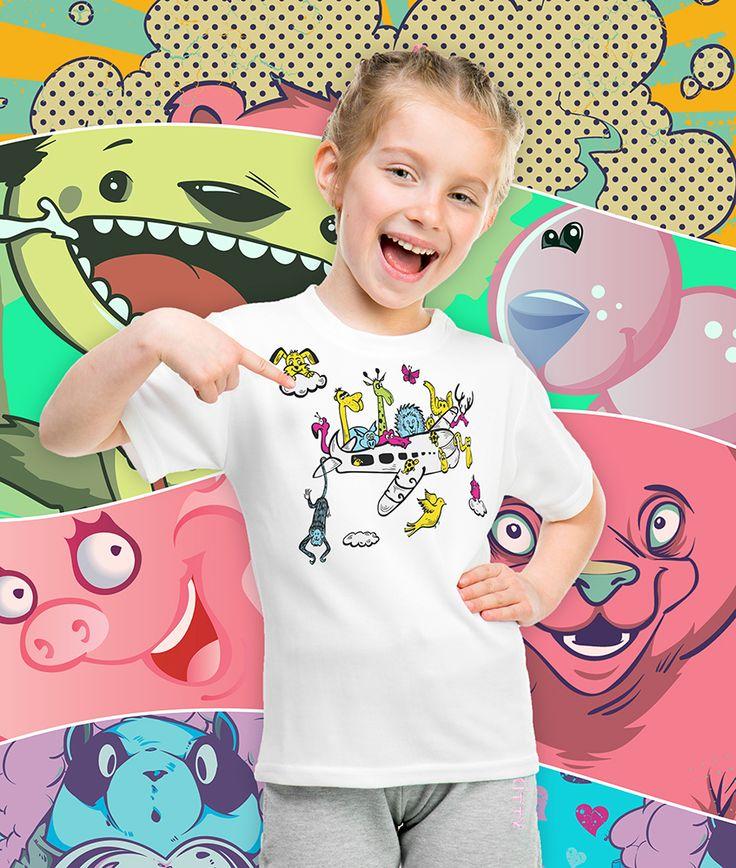 Wzory na koszulki pełne lata, kolorów i słońca - nie tylko dla najmłodszych.