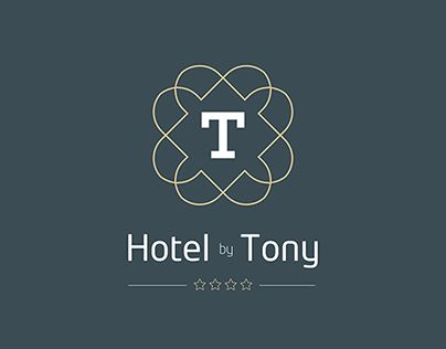 """Check out new work on my @Behance portfolio: """"Logo   Hotel by Tony"""" http://on.be.net/1JPTZZT"""