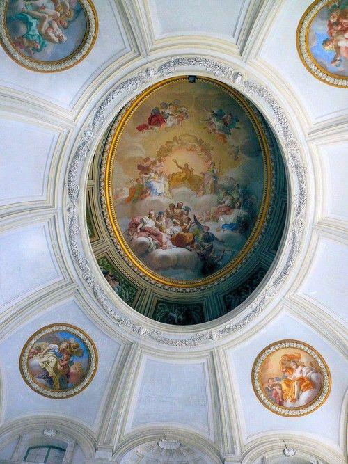 Ceiling Mural Caserta Royal Palace Reggia Di Caserta
