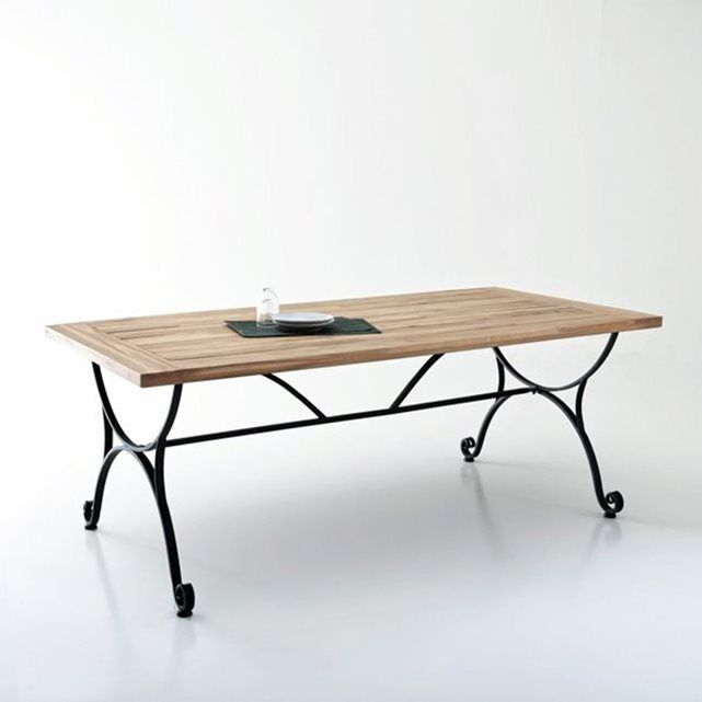 Table De Jardin En Fer