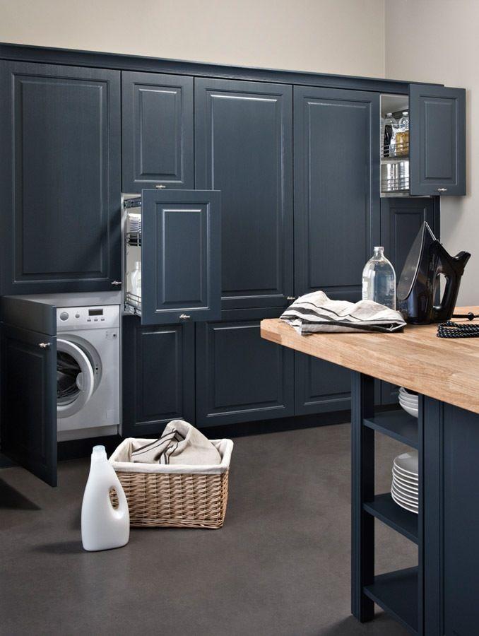 Minéralisé cuisine chez Darty (idea for laudry room)