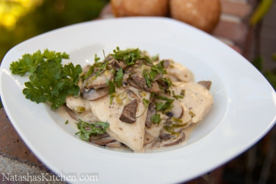 ... Sauce | Recipe | Chicken With Mushrooms, White Wines and Mushrooms