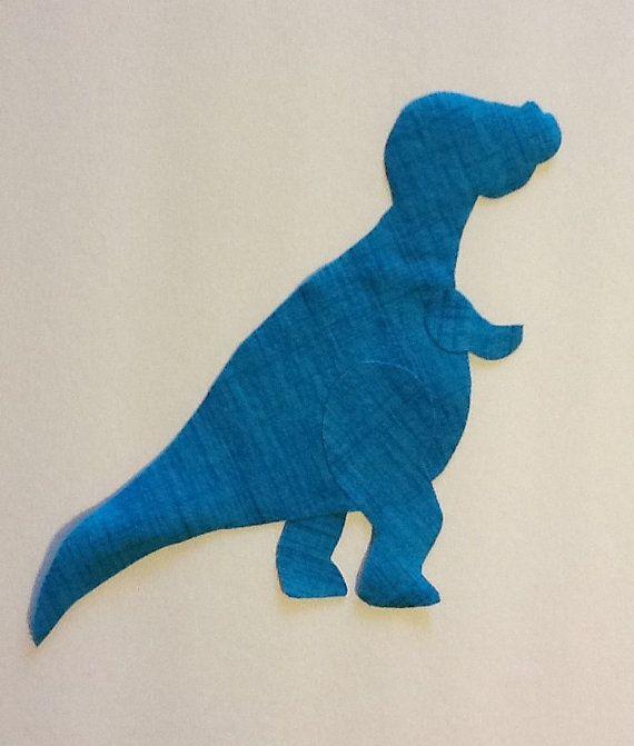 Dino Dinosaur T Rex Fabric Applique Pattern Template Party