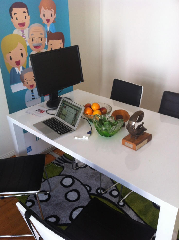 Meeting Table at the Intunex Office