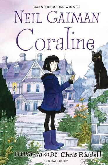 """Neil Gaiman's award-winning 2002 fantasy novel was adapted into an Oscar-nominated animated film from Henry Selick, the director of The Nightmare Before Christmas. The story—about a young girl whose wish for a more loving and attentive mother comes true in a parallel universe where the """"Other Mother"""" with button eyes seems to be everything she ever wanted—has been compared to the classic Alice in Wonderland."""