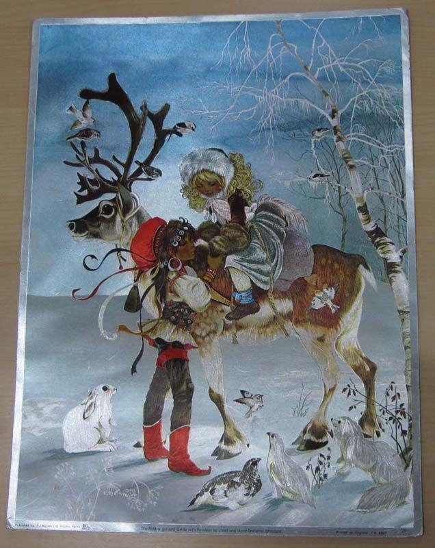 Gerda And The Robber Girl Reindeer Goddess Snow Queen