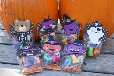 Treat toppers made with Create a Critter 2