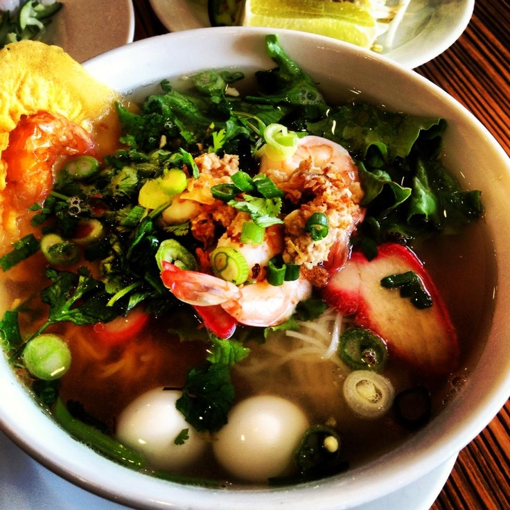 ... this year during vietnamese new year... a traditional noodle soup