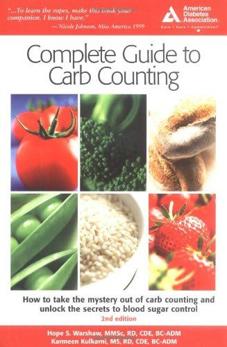 ADA Complete Guide to Carb Counting by Hope S. Warshaw,http://www.amazon.com/dp/1580402038/ref=cm_sw_r_pi_dp_2XPftb0AD19Q1H30