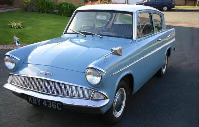 Ford Anglia, We had one of these when we lived in England. But ours was red.
