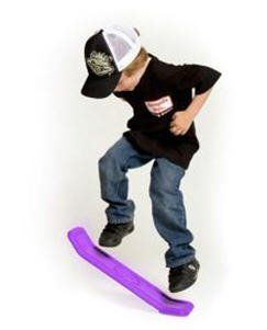 Yo Baby Kick Flipper w/ DVD- Purple by Garage Co Toys. $19.95. Yo Baby Kick Flipper is a sports action toy designed to teach balance and coordination. It also teaches basic boarding skills that help kids with skateboarding, wakeboarding, snowboarding - or any sport that requires agility and balance. Use it on grass, sand, even snow. And if the weather's bad, use it indoors on carpet! Do basic boarding tricks and make up your own. Even if you never board anything else, the Yo Ba...