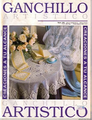 Ganchillo 243 Artistico - Crochet Knitting Handicraft
