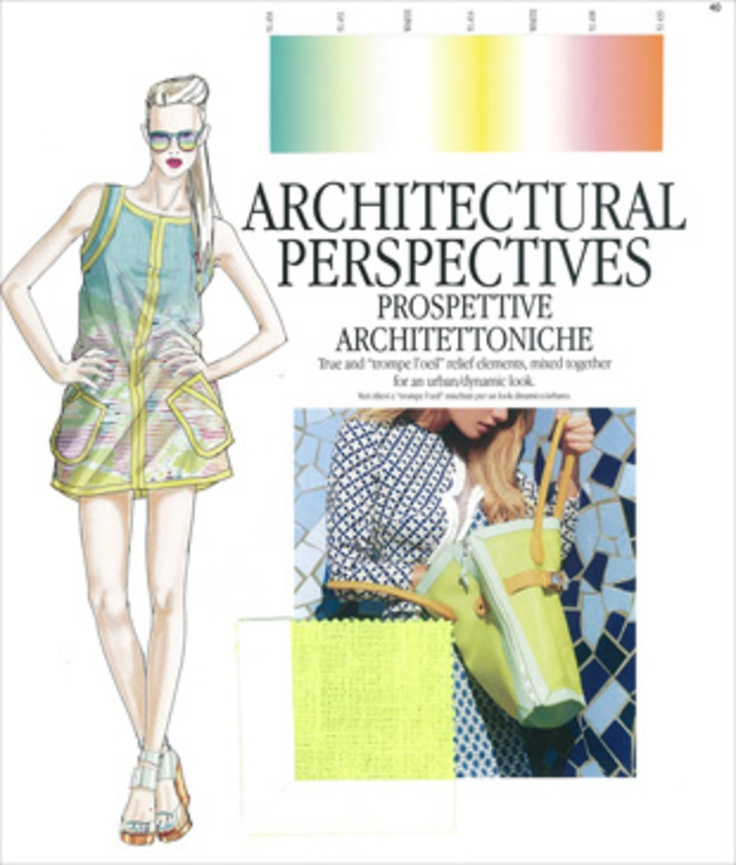 S/S 2014 Trends - Architectural Perspectives