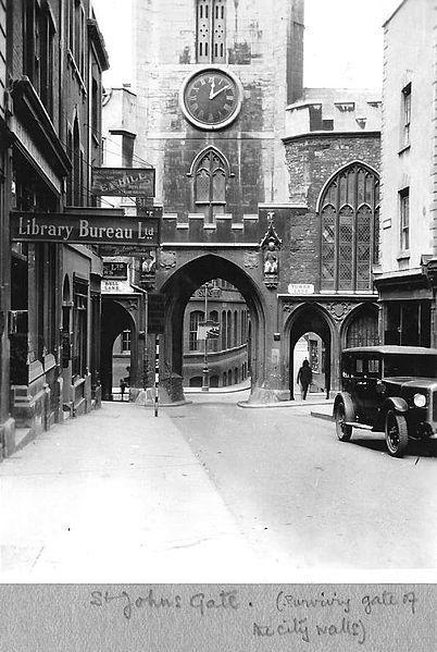 St Johns Gate, Bristol 1931