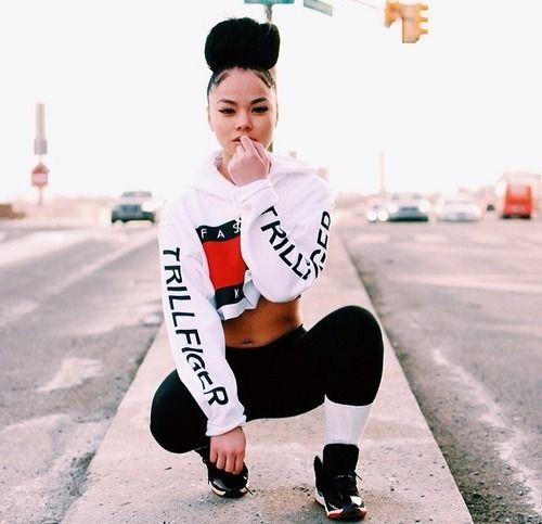 Trillfiger XX Fashion Killa cropped hoodie multiple colors by  Fashionmovements