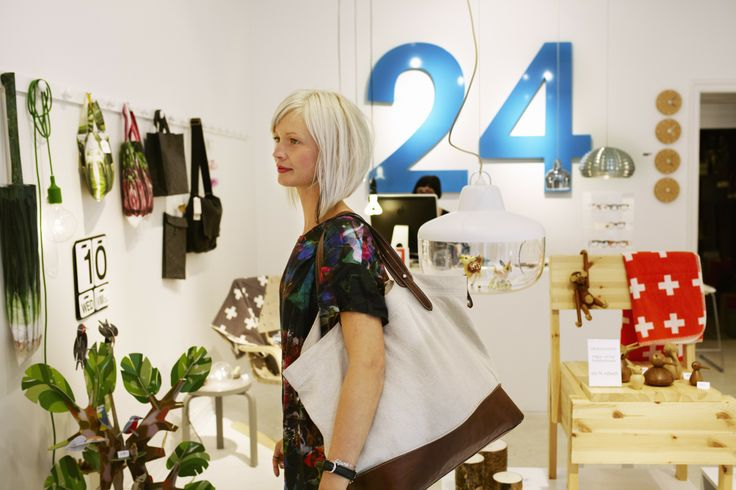Aschebergsgatan 24 is a design store in Gothenburg. Photo by Nicho Sodling