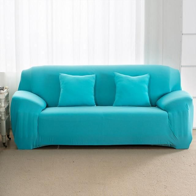 Original Sofaskin Sofa Slipcover Buy One Get One 50 Off Aqua Sofa Covers Couch Covers Slipcovered Sofa