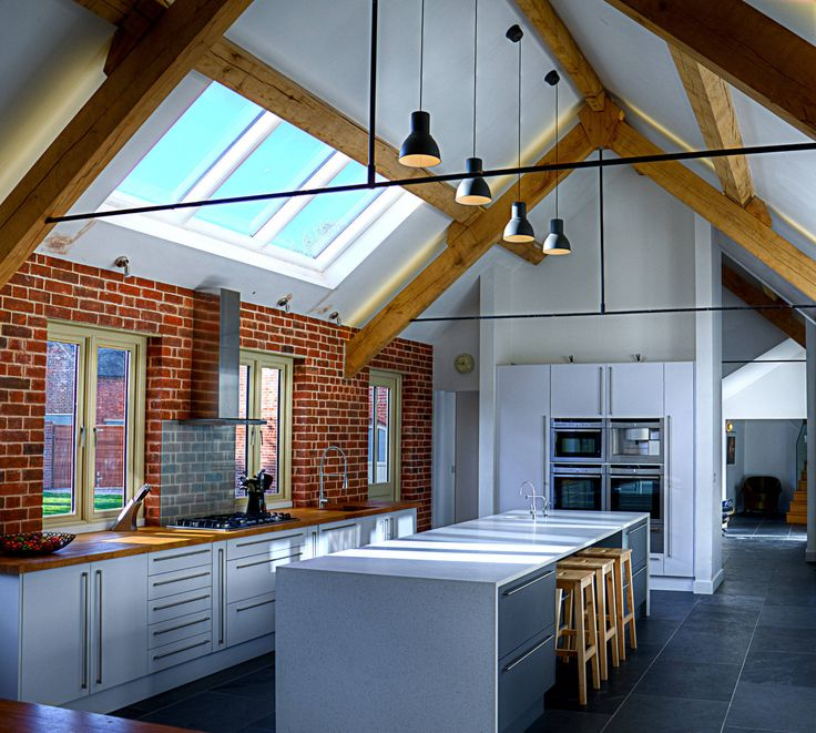 kitchen 03 : Moderne Küchen von Alrewas Architecture Ltd