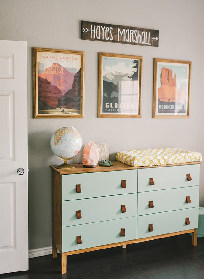 Stylish Outdoorsy Nursery – Inspired By This
