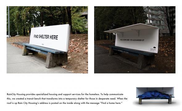 RainCity Housing: Bench, 1