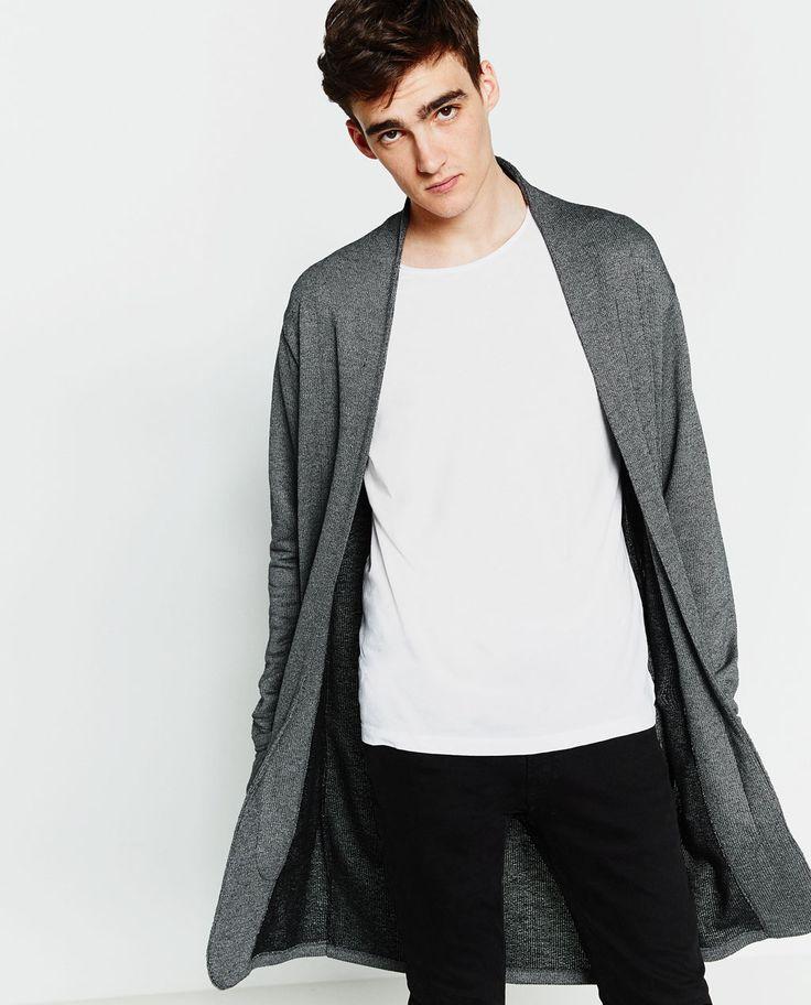 Best 25  Mens long cardigan ideas on Pinterest | Mens cardigan ...