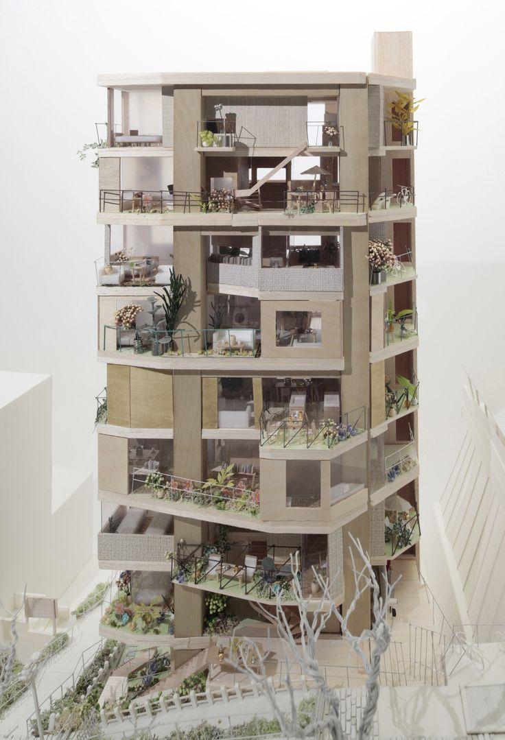 コーポラティブガーデン | Erika Nakagawa Office