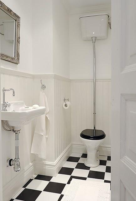 Perhaps more downstairs loo than en-suite.