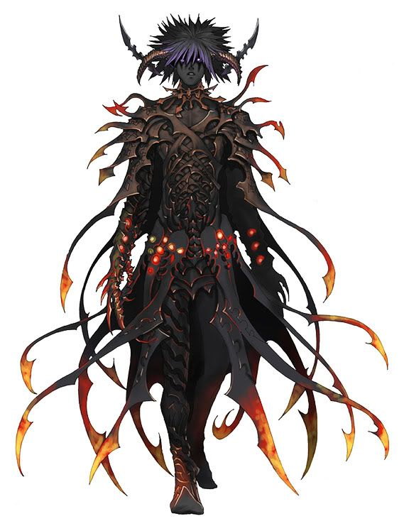 Anime shadow demon quick reply elemental creatures for Domon kingdom
