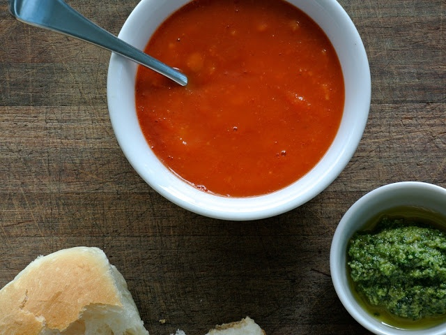 what caroline cooked: Roast Tomato Soup
