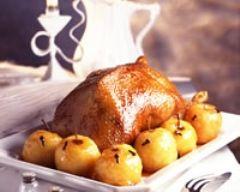Oie farcie aux pommes (facile, rapide) - Une recette CuisineAZ