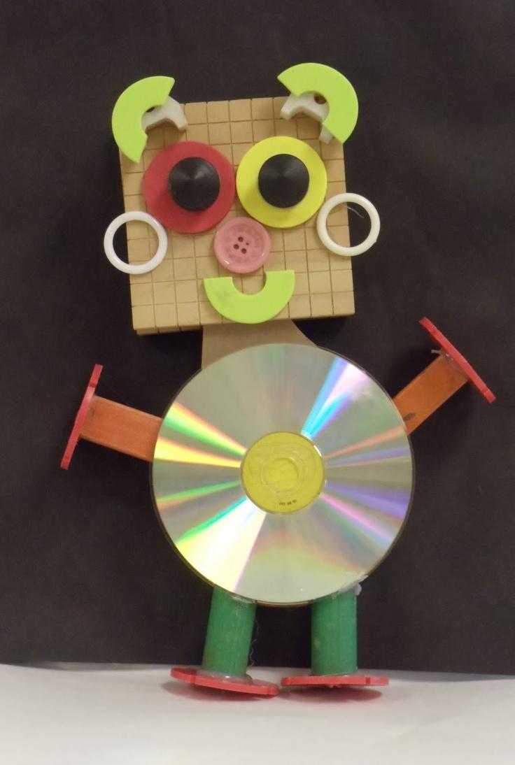 Hands, Head 'n Heart in the Artroom: Rockin' Robots