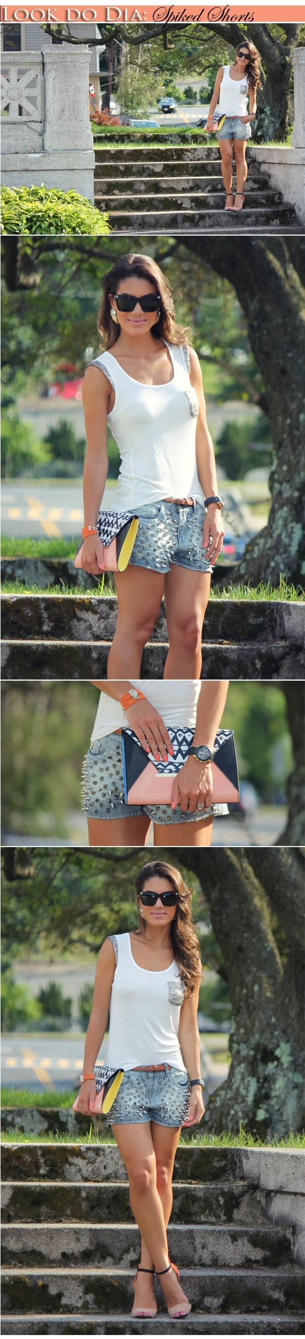 Super opção de look pra dias quentes de verão!!