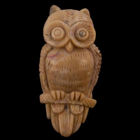 Product No.255 – Opal Owl Carving on http://www.opalessence.net.au