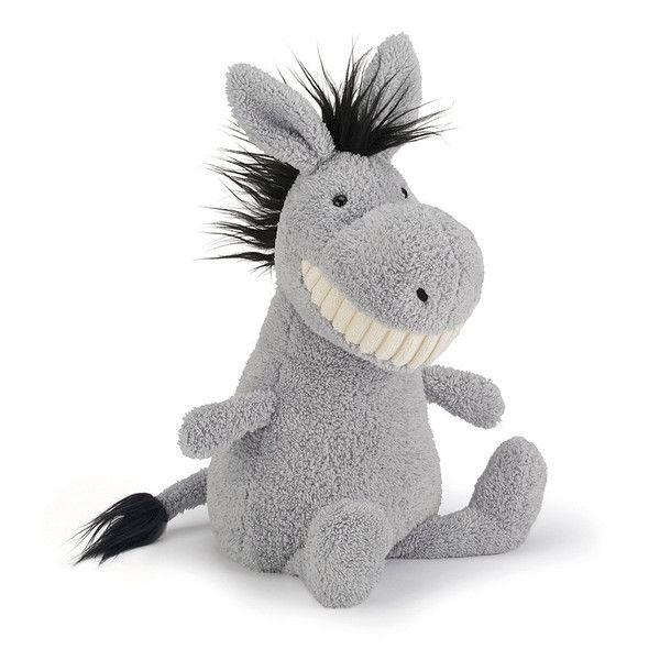 Jellycat Toothy Donkey Soft Toy