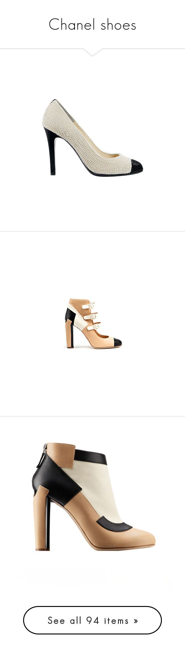 """Chanel shoes"" by z777 ❤ liked on Polyvore featuring shoes, pumps, heels, chanel, sapatos, chanel pumps, chanel shoes, heel pump, chanel footwear and footwear"