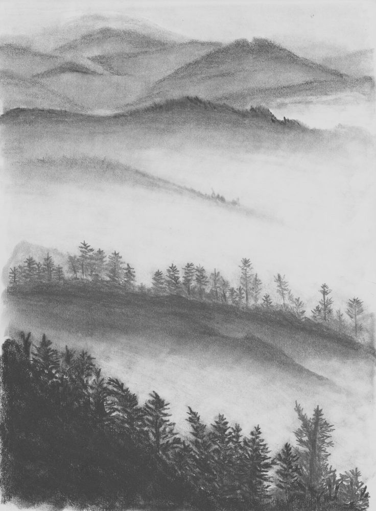 Mist in the Hills by Hester Bondt