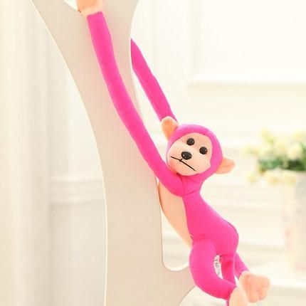 60cm Mamas Papas Long Arm Tail Monkey Sozzy Stroller Baby Rattle Mobiles Bell Plush Toys Infant Dolls Educational For Toddlers