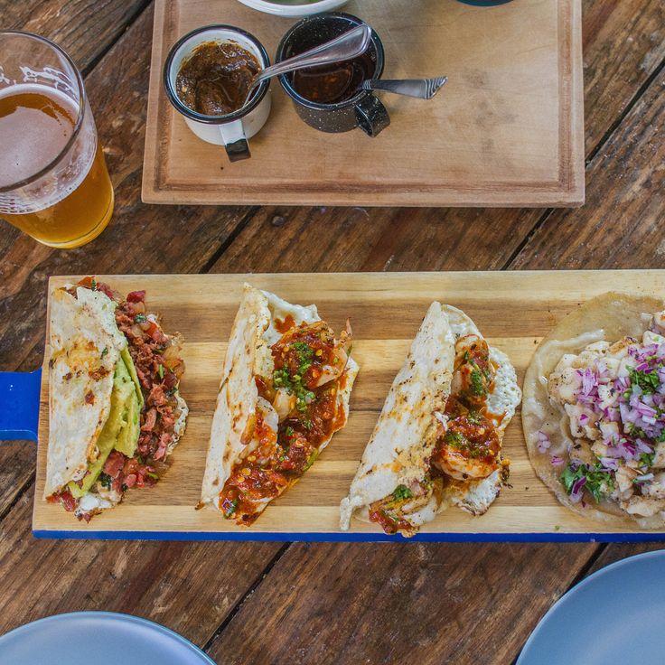 Couple of Shrimp Enchilados Taco Gobernador and a Fish bathed in Pork Suadero #tacos #food #foodporn #TacoTuesday #mexican #mexicanfood #Mexico #foodie #burritos #yum #dinner