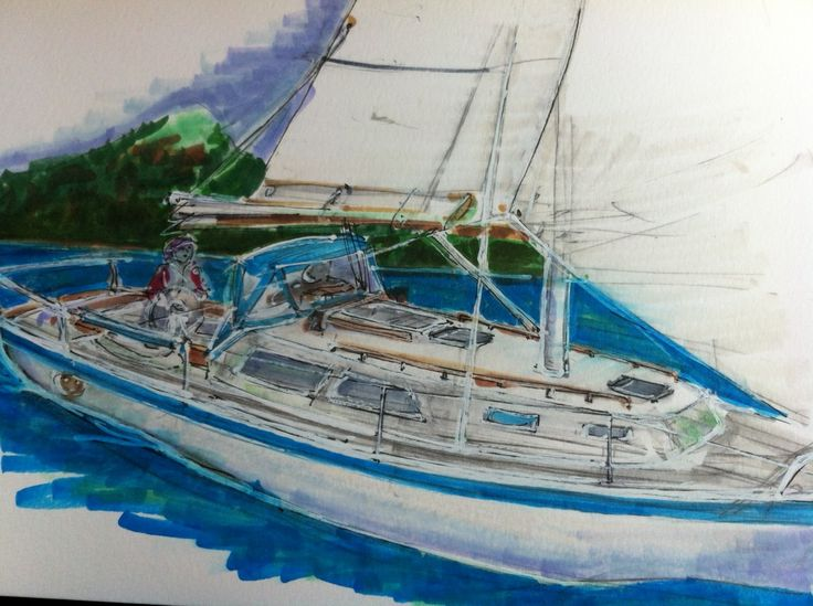 An Apologia for Boat Brokers And Some Pretty Good Sailing
