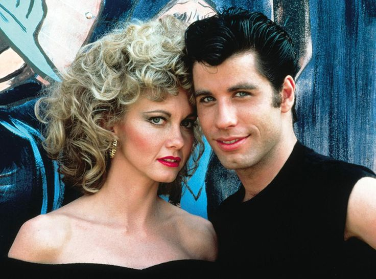 Sandy Olsson and Danny Zuko, Grease from The 59 Best Movie ...