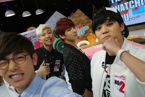 RapMon, Jimin & Kookie on After school club with Eric ♥♥♥