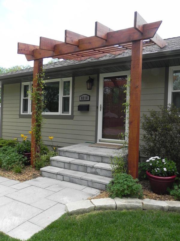 The 25+ best Front porch pergola ideas on Pinterest | Door ...