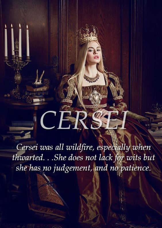 Cersei Lannister, Lioness of Casterly Rock