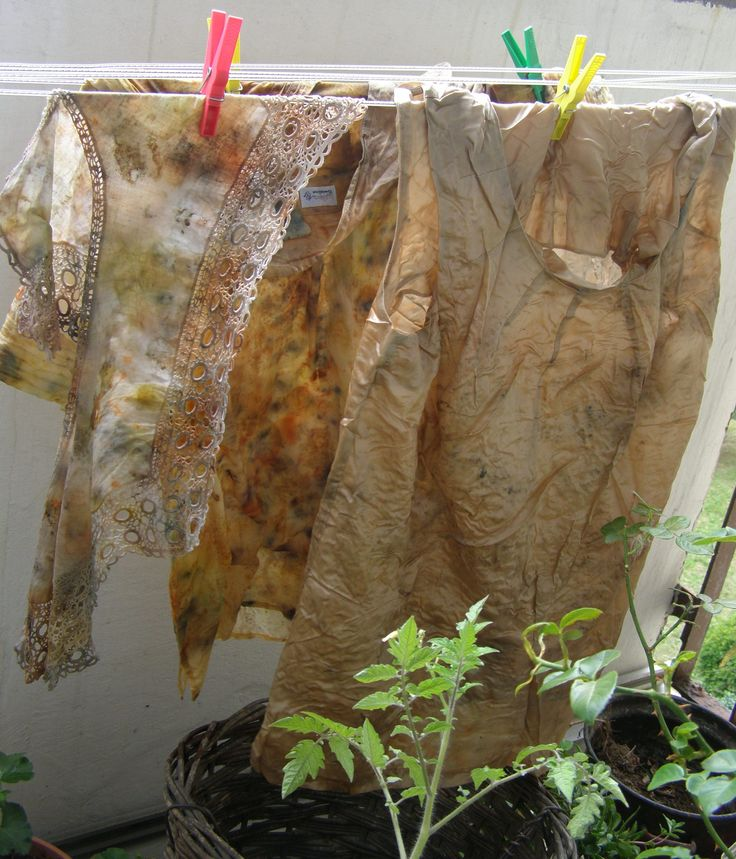 my eco dyeing