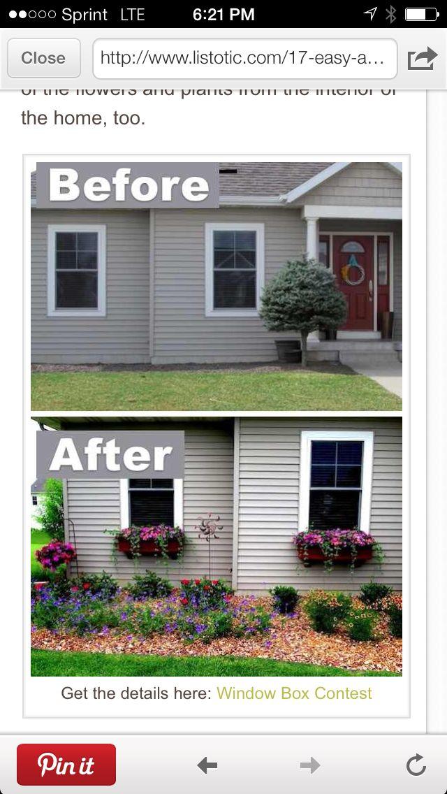 Flower Boxes For Windows Home Pinterest Flower Boxes