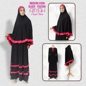 Busana Muslim - Modern Syari Black