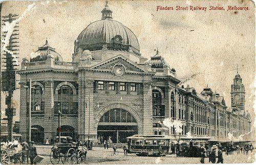 Flinders Street Railway Station, Melbourne, Australia (1909-1910)